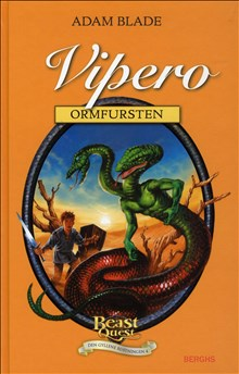 Beast Quest Den gyllene rustningen 4 Vipero ormfursten