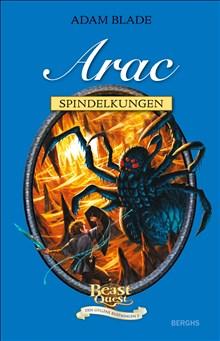 Beast Quest Den gyllene rustningen 5 Arac Spindelkungen