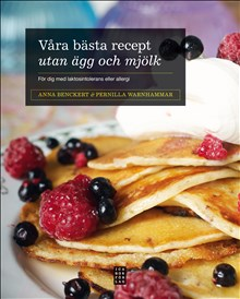 Våra bästa recept utan ägg och mjölk