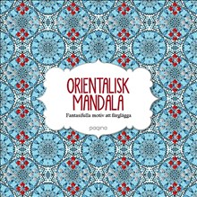 Orientalisk Mandala fantasifulla motiv...