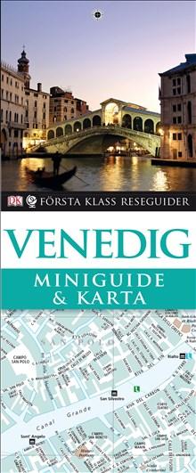 Miniguide & karta Venedig