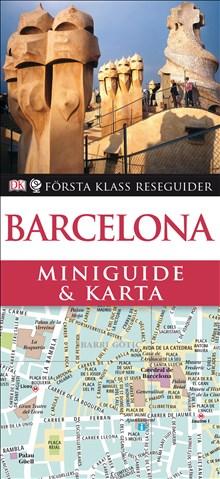 Miniguide & karta Barcelona