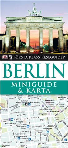 Miniguide & karta Berlin