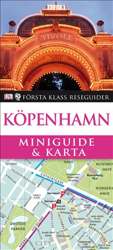 Miniguide & karta Köpenhamn