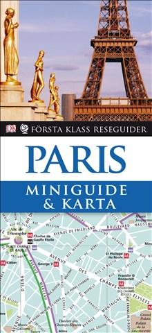 Miniguide & karta Paris